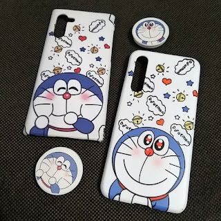 Custom Case Doraemon Popsocket