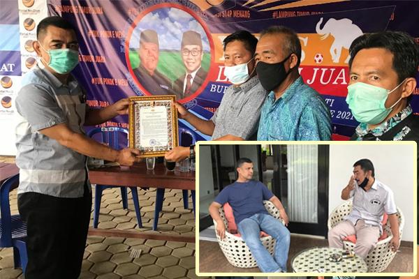 Pilkada Damai, Tim Polda Lampung Silaturrahmi dengan Para Timses Paslon Bupati dan Wakil Bupati Kabupaten Lampung Timur