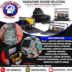 NAIRAFAME DIVINE SOLUTION