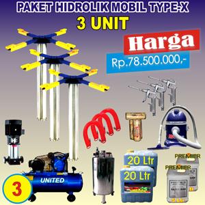 Paket Hidrolik-X 3 Unit