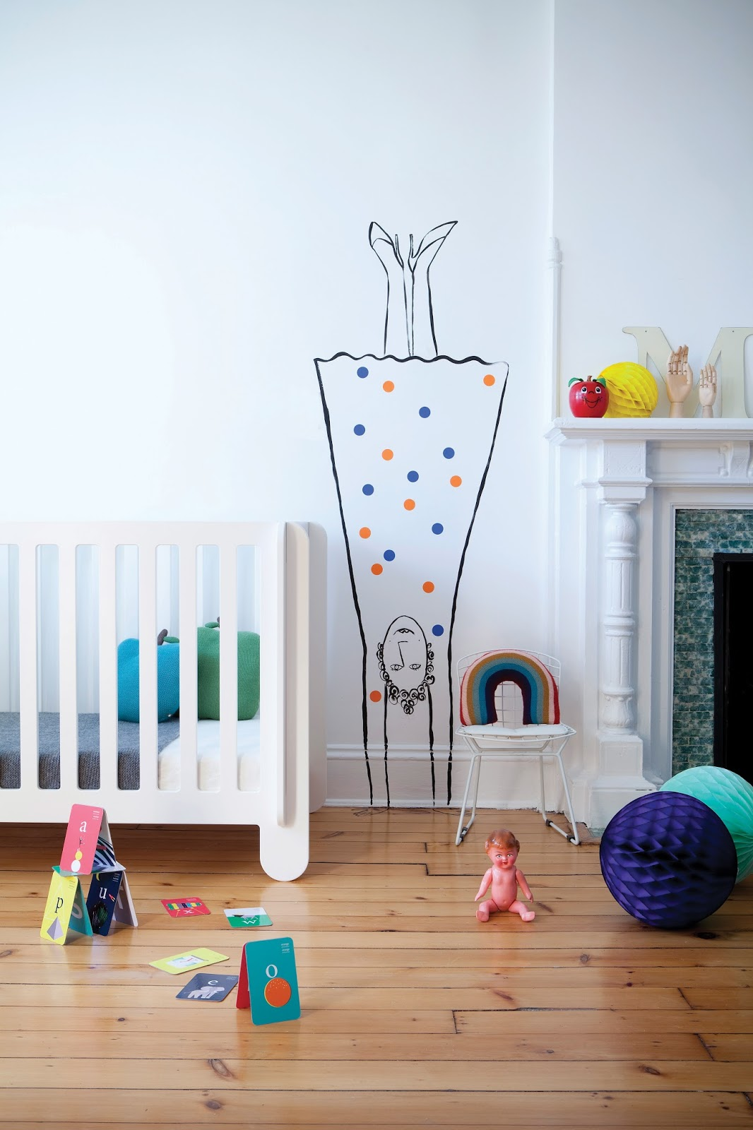 Walls For Kids My Scandinavian Home A Fun And Relaxed Children 39s Room By