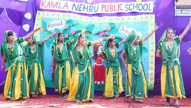 Annual Festival of Kamla Nehru Public School SGM Nagar Faridabad