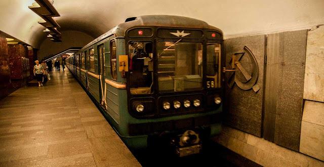 Convoi del metro de Moscú