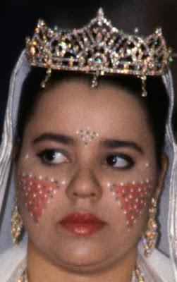 diamond tiara princess lalla asma morocco