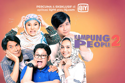 Drama Kampung People 2, Slot Lestary, TV3, Pelakon Utama Drama Kampung People 2, Poster Drama Kampung People 2, Rashidi Ishak, Elly Mazlein, Kamarul Eqifshah, Riena Diana, Hun Haqeem,