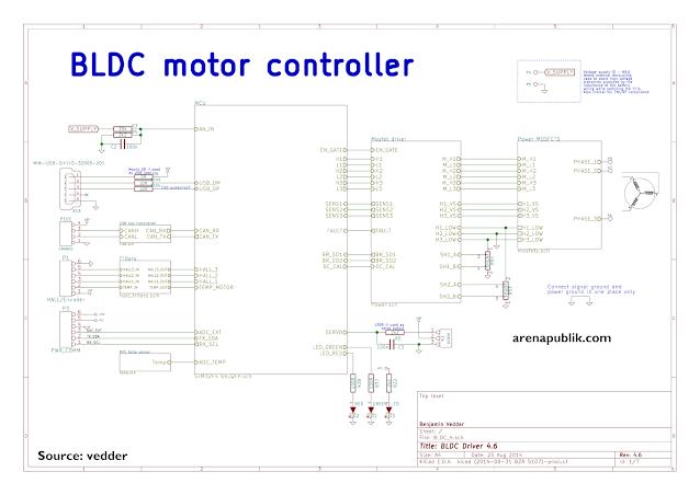 Cara Membuat Controller Motor BLDC
