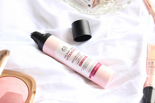 The Body Shop Vitamin E Day Lotion SPF 30 Review