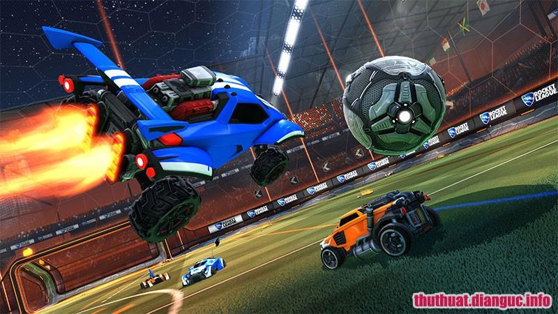 game đá bóng bằng những chiếc xe mô hình, Rocket League, Rocket League free download,