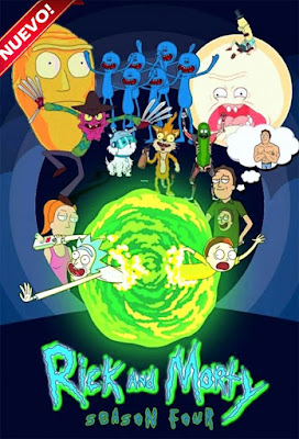 Rick And Morty (TV Series) S04 DVD HD Dual Latino 5.1 + Sub F 1xDVD5