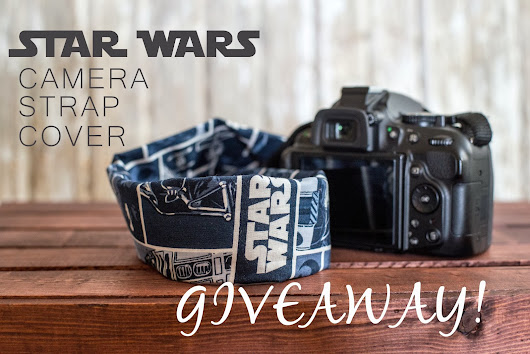 Star Wars Print Camera Strap Cover Giveaway