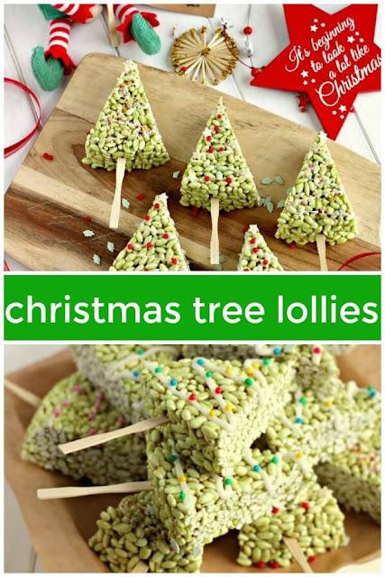 Christmas tree lollies
