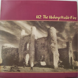 U2 The Unforgettable Fire 1984 Record Album