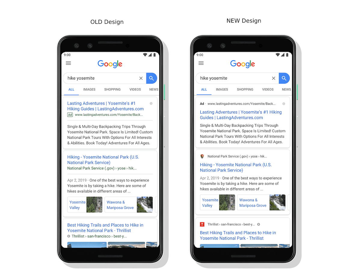 Google Announces a Major Design Update for its Mobile Search Results Including Favicons!