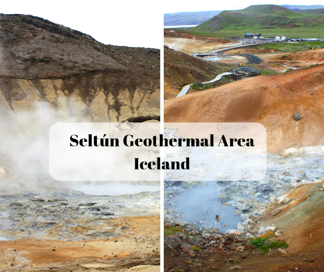 Seltun Geothermal Area Stuns With Geothermal Steam and Brilliant Colors on Iceland's Reykjanes Peninsula