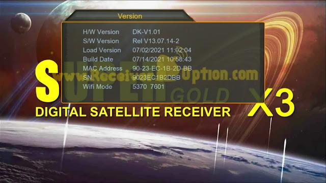 SUPERGOLD SG-555 1506G 1G 8M STG3 NEW SOFTWARE 14 JULY 2021