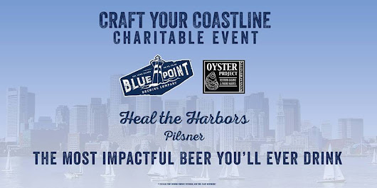 Join us as We Introduce Heal the Harbors Pilsner at the Barking Crab on May 3
