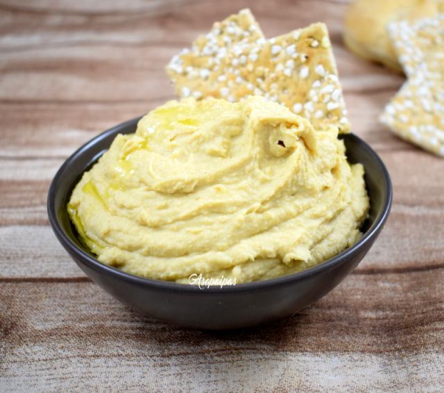 Hummus. Crema de Garbanzos. Vídeo Receta