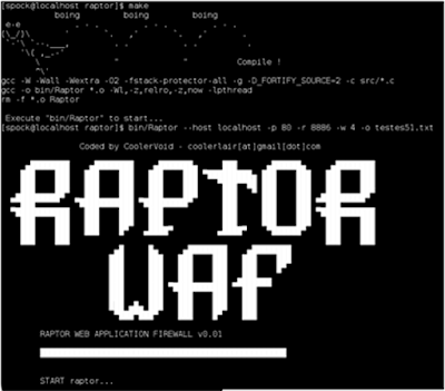Raptor WAF Screenshot 2