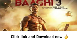 Baaghi 3 Full movie download in hindi language