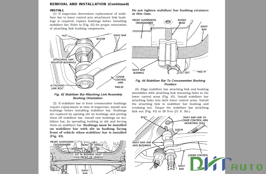 DODGE / CHRYSLER NEON FACTORY 1999 SERVICE MANUAL