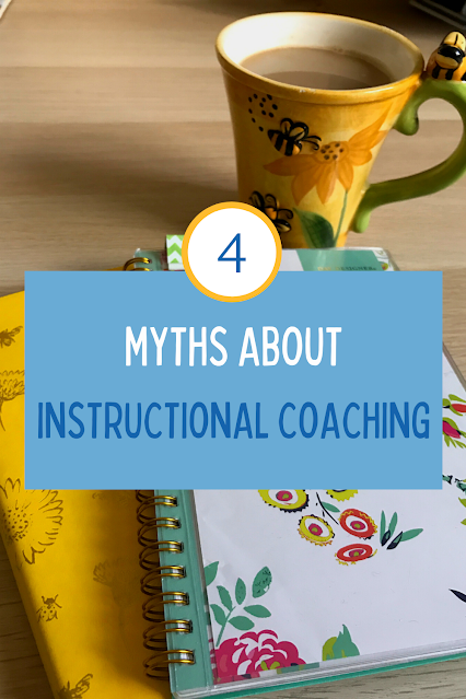 There are many misconceptions about instructional coaching. In this episode, I share four common myths and how to address them. I discuss why clearly explaining your role can help teachers get to know you better. Listen to learn why both new and experienced teachers benefit from having a coach. #roleofaninstructionalcoach # teachercoaches #teachingandcoaching