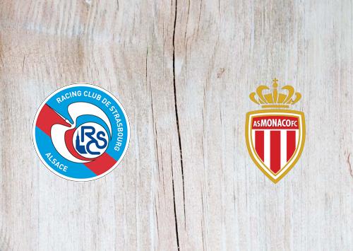 Strasbourg vs Monaco -Highlights 03 March 2021