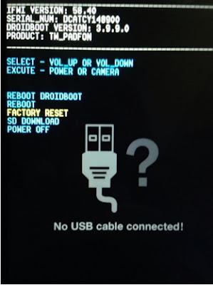 Cara Factory Reset Asus Zenfone 5