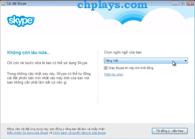 Hướng dẫn Cài đặt Skype trên máy tính a