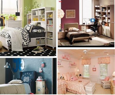 Warna pada kamar tidur anak remaja