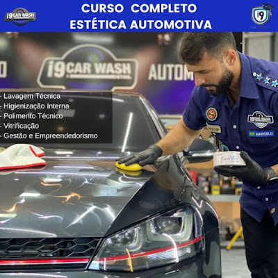 Curso Online de Estética Automotiva - Full Detail