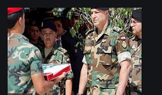 الجيش اللبناني يدعو المحتجين إلى التفاوض بسلام