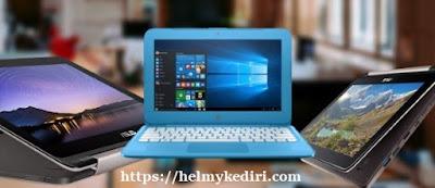 perbedaan antara notebook, netbook dan laptop