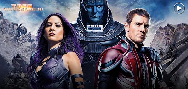Primele imagini oficiale din X-Men: Apocalypse