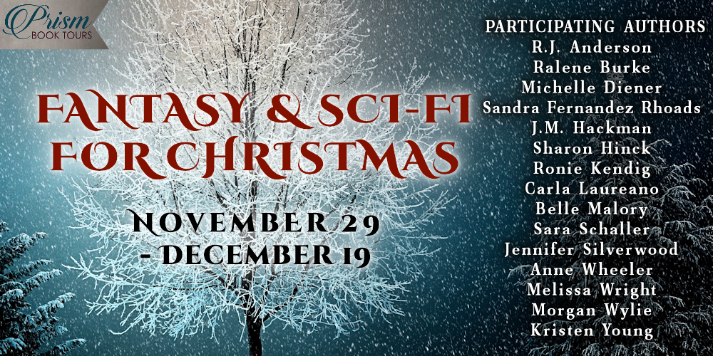 Sharon Hinck for FANTASY & SCI-FI FOR CHRISTMAS! #FantasyforChristmas20