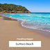 La Mora Tarragona: Enjoying beauty of La Mora Beach in Tarragona Catalonia, Spain. September, 2019