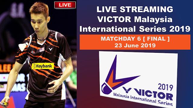 Live VICTOR Malaysia International Series 2019