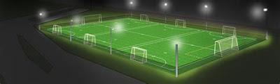 Cómo es iluminación deportiva
