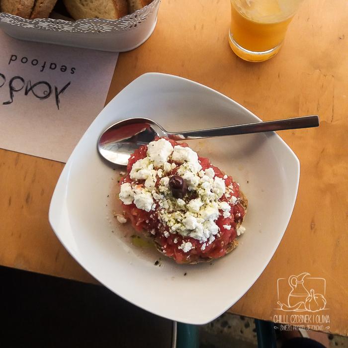 Kreteńskie dakos / Chilli, Czosnek i Oliwa