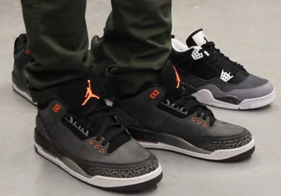 6ed20b83ac9d Here is a detailed look via EXCLUCITY of the Air Jordan Fear 3 III Sneakers  on Feet that will be hitting retails this Saturday. Peep more after the  jump.