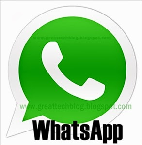 How to add an international phone number in whatsapp? www.greattechblog.blogspot.com the most popular and the best tech blog.