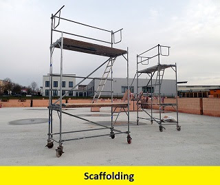Difference Between Formwork Shuttering, Centering Staging & Scaffolding