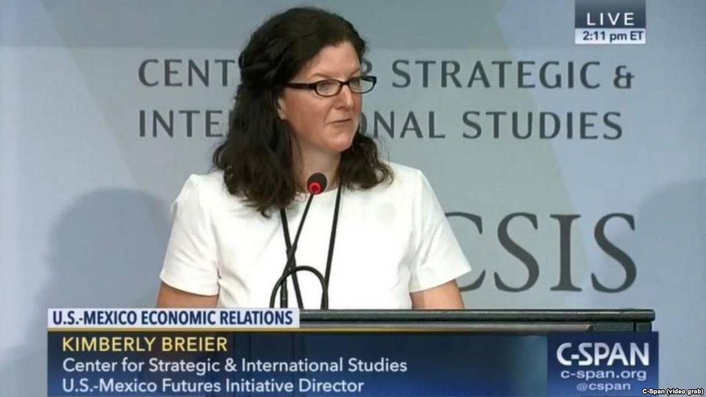 Kimberly Brier es la nueva responsable de asuntos hemisféricos por EEUU/ AP