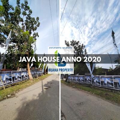 Lokasi Rumah mewah MURAH 600 Jutaan dekat Plaza Millenium Kapten Muslim Medan - Java House Anno 2020