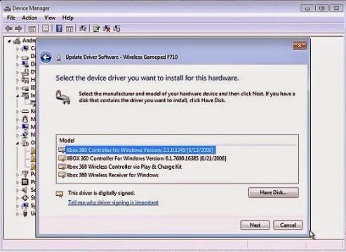 Wireless gamepad f710 windows 7 64 bit