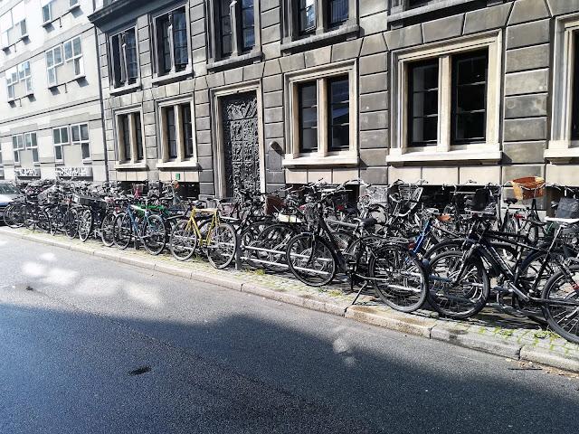 Kopenhaga - parking rowerowy
