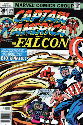 Captain America and the Falcon #209