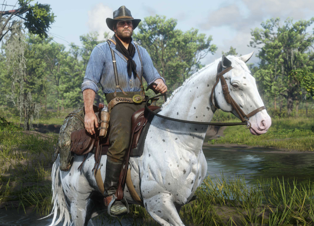 Red Dead Redemption 2 main Character