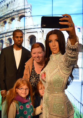 Madame Tussauds London including Star Wars,  A Review  - Kim and Kanye Selfie