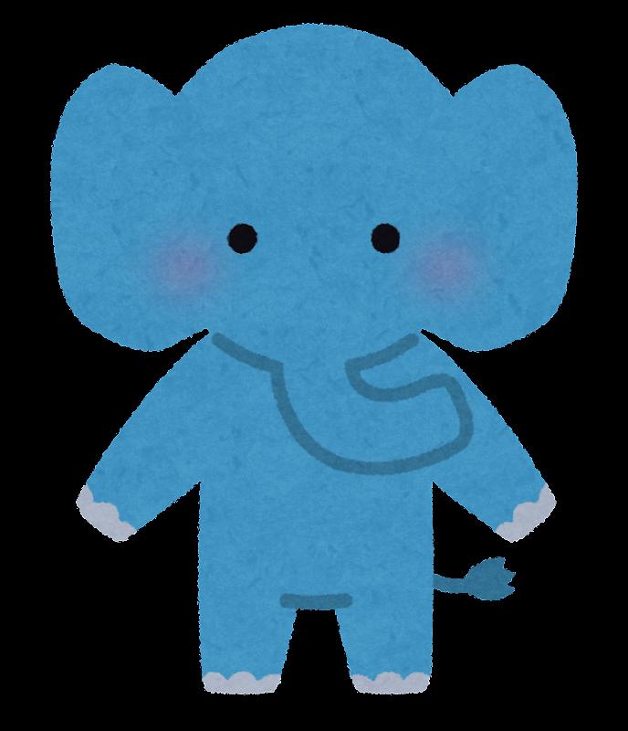 象のキャラクター かわいいフリー素材集 いらすとや