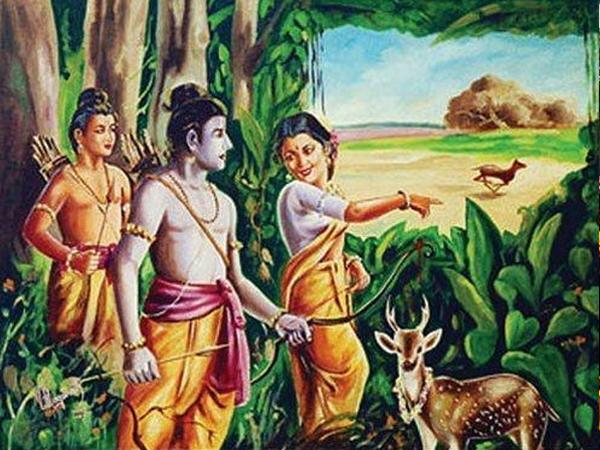 Ramayana Chapter 26- Rama Chasing  the Deer